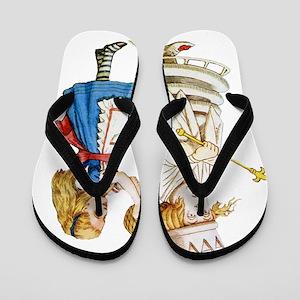 Alice  WHITE QUEEN SOLO_RD Flip Flops