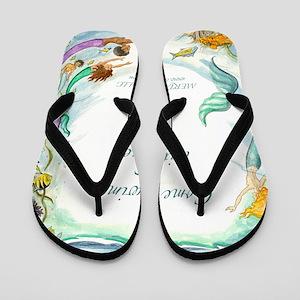SIZED LARGE Flip Flops