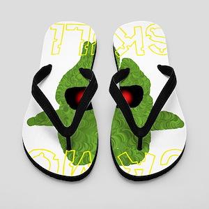 camo skull2 Flip Flops