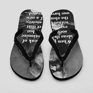When People Speak Of Ideas - Karl Marx Flip Flops