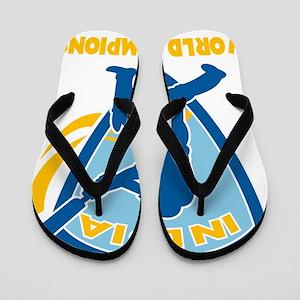 cricket india world champions Flip Flops