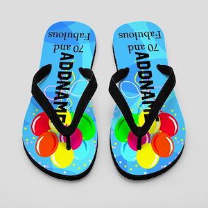 Fantastic 70th Flip Flops