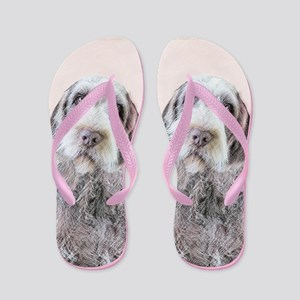 Wirehaired Pointing Griffon Flip Flops