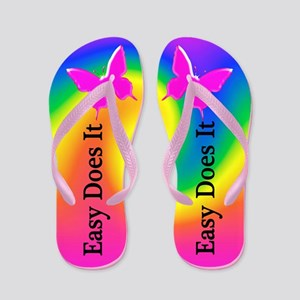 Relax And Trust Flip Flops