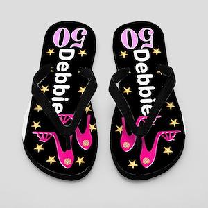65be5dc2b 50th Birthday Flip Flops - CafePress