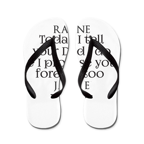 Step Mother To Step Child Wedding Custom Flip Flop