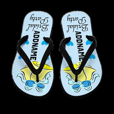Chic Bridal Party Flip Flops