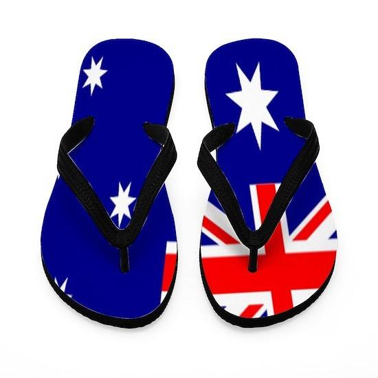 65ed8359624 Australian patriotism Australia flag Flip Flops by focusedonyou ...