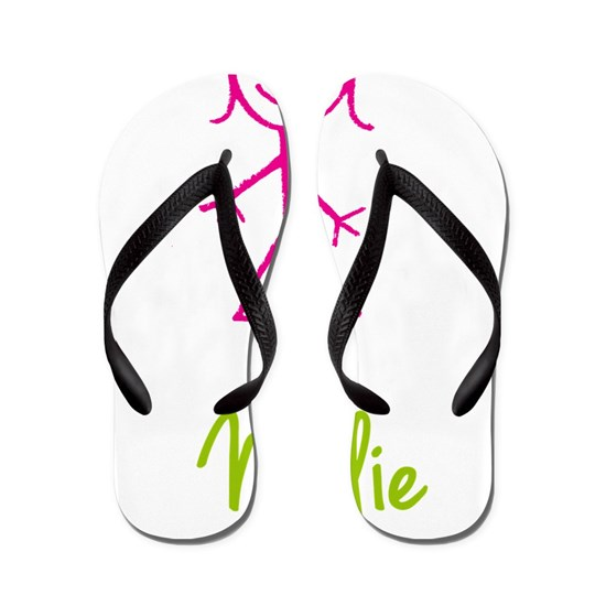 Nellie-cute-stick-girl Flip Flops