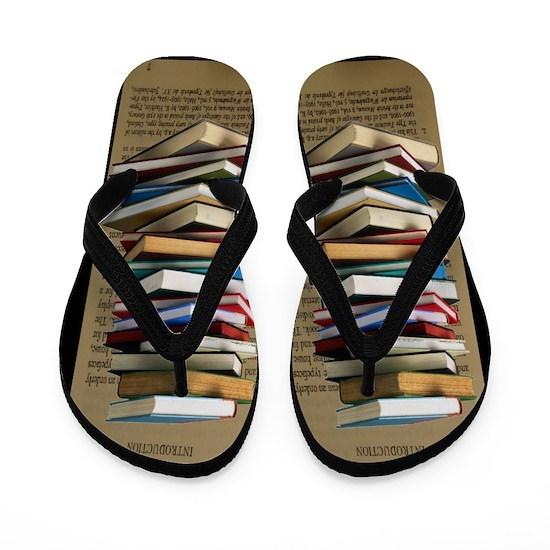 2ae7f5d407c336 Book Lovers Flip Flops Flip Flops by Gigi - CafePress