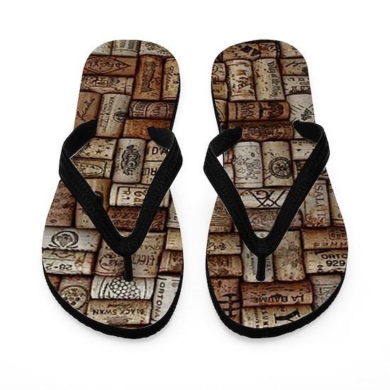 corks flip flops