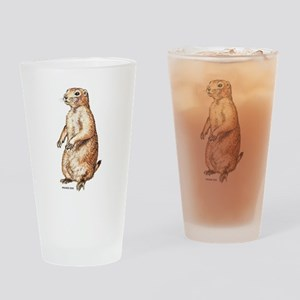 Prairie Dog Drinking Glass