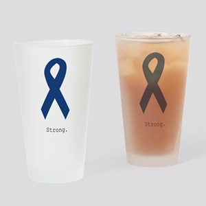 Navy Blue: Strong Drinking Glass