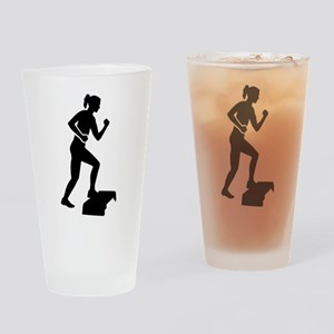 Step aerobics Drinking Glass