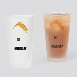 TRUMP PROTEST IMAGE Drinking Glass