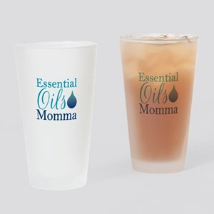 Essential Oils Momma Drinking Glass