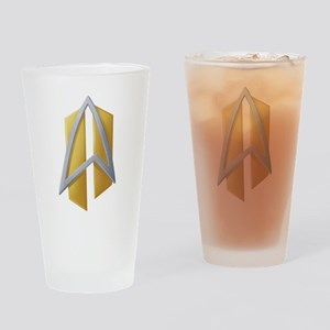 All Good Things Starfleet Insignia Drinking Glass