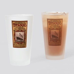 Sinking of the Titanic Drinking Glass