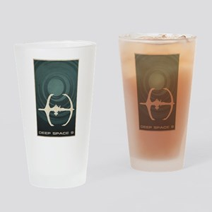 Minimal Deep Space 9 Drinking Glass