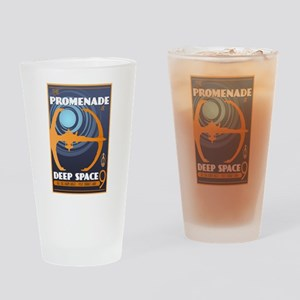 The Promenade at DS9 Drinking Glass