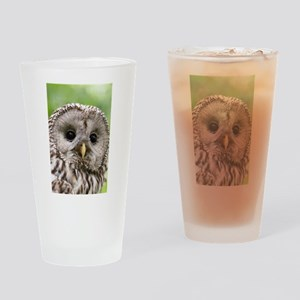 Owl See You Drinking Glass