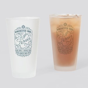 Winchester Brothers forever blue Drinking Glass