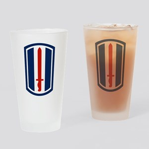 193rd Infantry Pint Glass