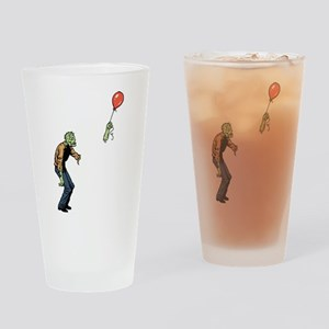 Poor zombie Drinking Glass