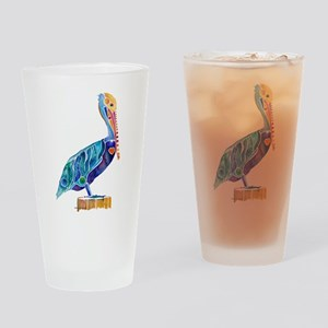 Penny Pelican Drinking Glass