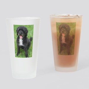 Portuguese Waterdog Drinking Glass
