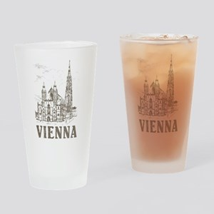 Vintage Vienna Pint Glass