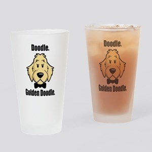 Doodle Bond Drinking Glass