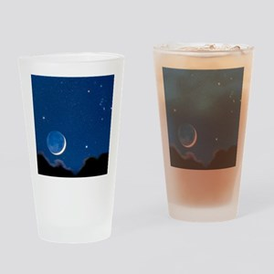 Night sky Drinking Glass