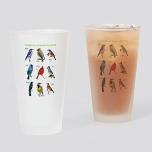 Songbirds of North America Drinking Glass
