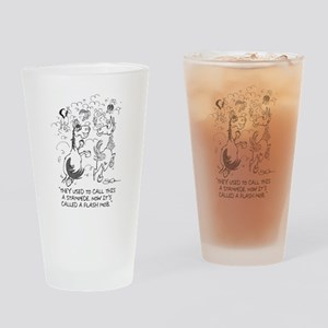 Flash Mob Drinking Glass
