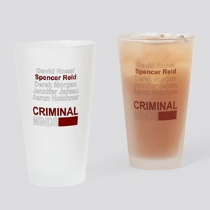 criminalmindstv Drinking Glass