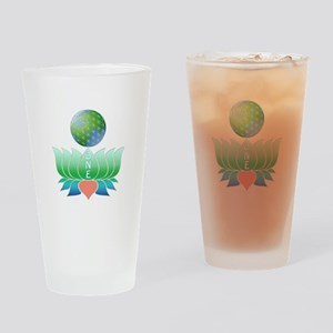 Oneness Drinking Glass