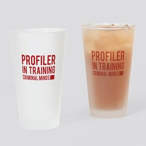 Profiler in Training Drinking Glass