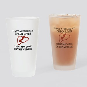 Check Liver Light Drinking Glass