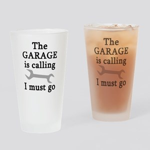 The Garage Is Calling I Must Go Drinking Glass