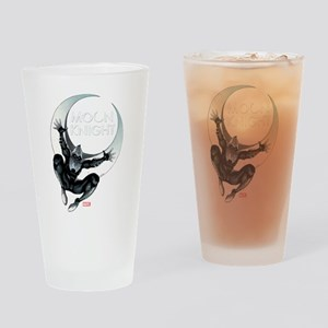 Moon Knight Leap Drinking Glass