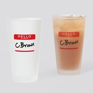 C.Brown Drinking Glass