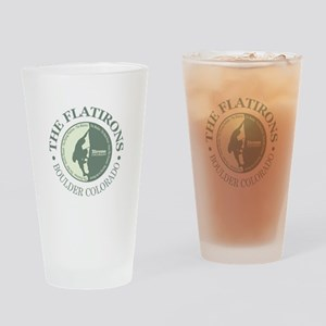 The Flatirons Drinking Glass