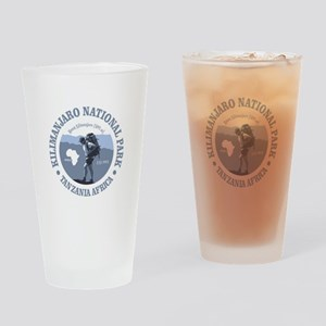 Mt Kilimanjaro Drinking Glass