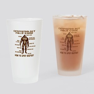 How to Spot Bigfoot - Field Guide Drinking Glass