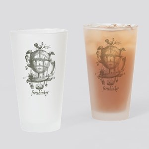 Freethinker Drinking Glass