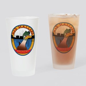 mmbcoasterflat2 Drinking Glass