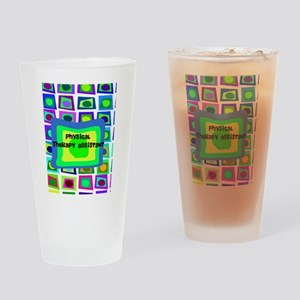 physical therapist asst6 Drinking Glass