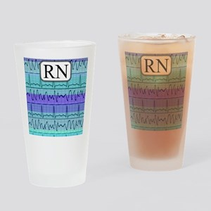 RN case blue Drinking Glass