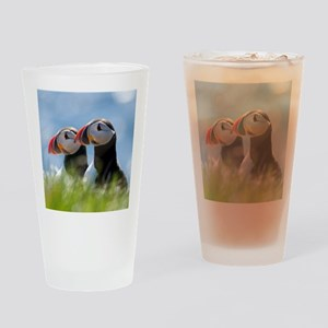 Puffin Pair 7.355x9.45 Drinking Glass